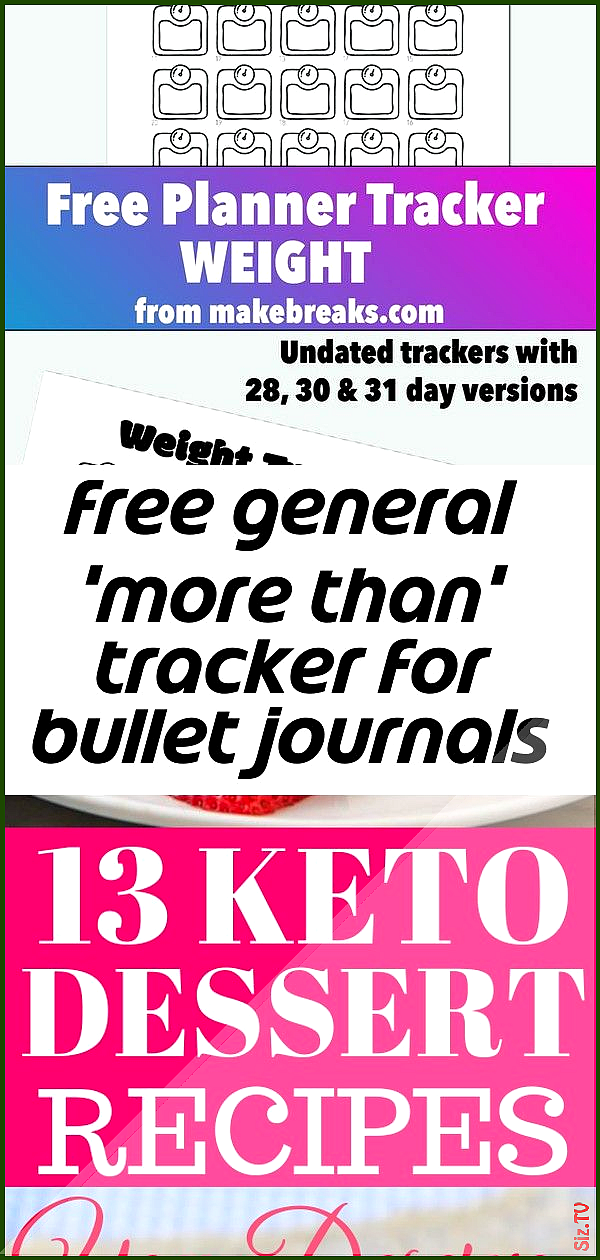 Free general  more than  tracker for bullet journals and planners Free general  more than  tracker f...