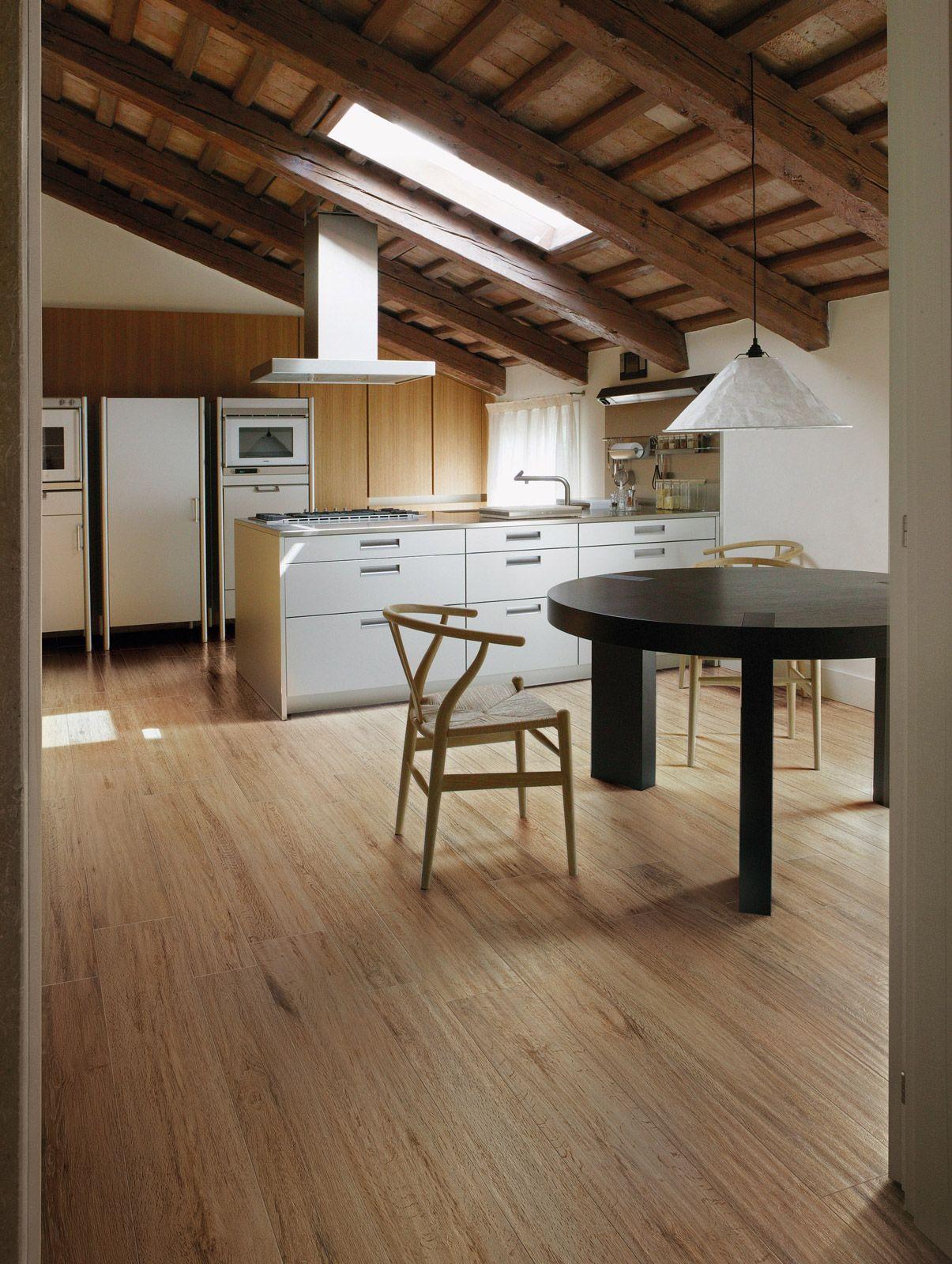 Scegliere il pavimento della cucina effetto legno - Cucina laminato effetto legno ...