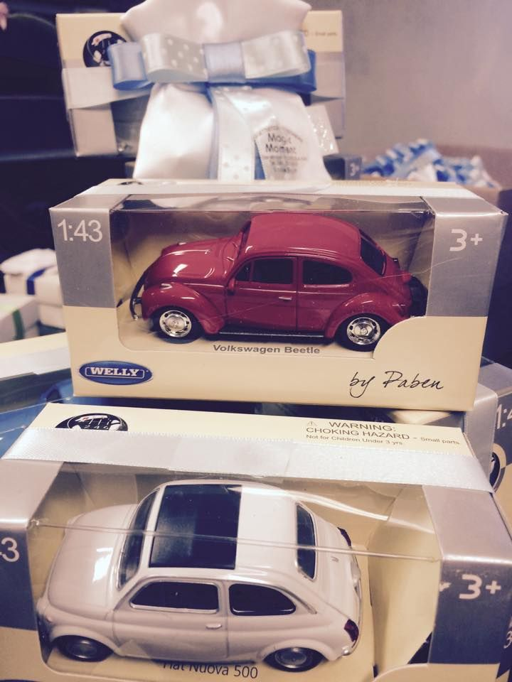 Little cars packaging.