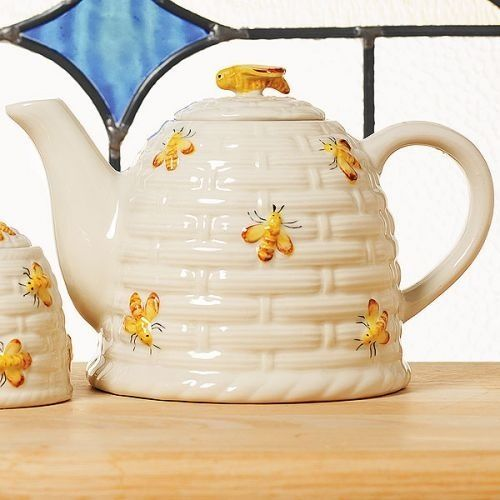Beehive Teapot THE For My Yearly Honey Bee Tea