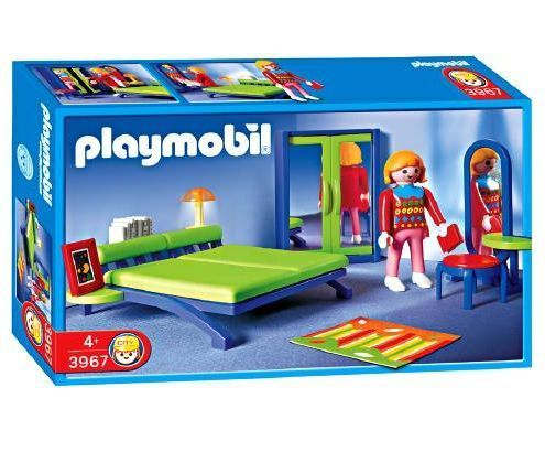 Playmobil schlafzimmer ~ Playmobil modern house bedroom childhood india s