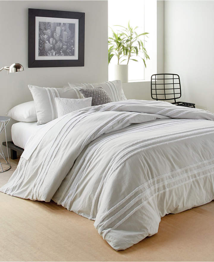 Dkny Chenille Stripe Full Queen Comforter Set Bedding Comforter Sets King Comforter Sets King Size Comforter Sets