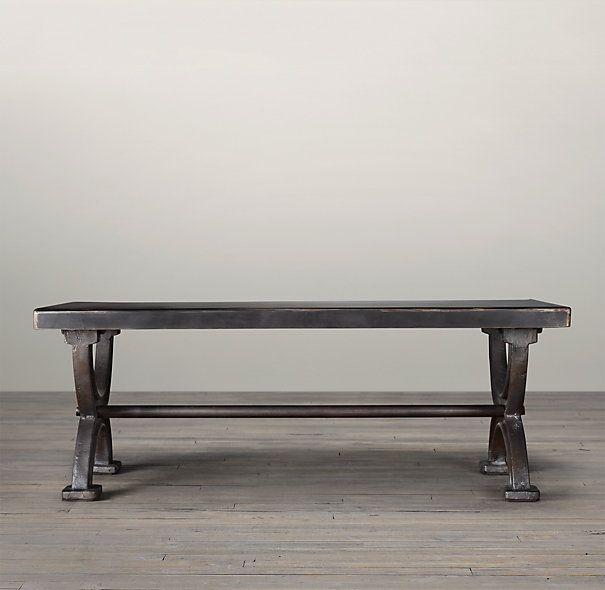 1940s Metal Cooling Rack Table Steel Coffee Tables Restoration