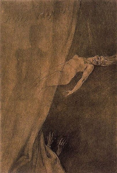 #dark arts #solitude #black and white #dark victorian #gothic art #monsters #dark religion #faith #dark ages #rinascimento
