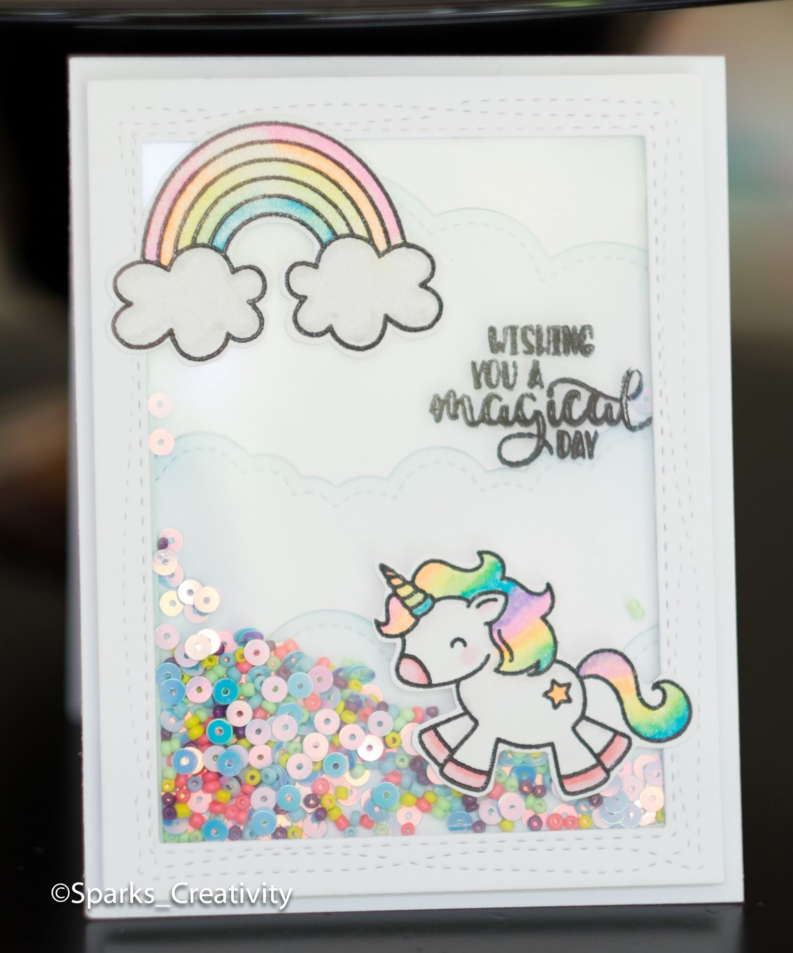 Unicorn And Cat Birthday Card For Granddaughter: Unicorn Card, Creative Birthday Cards