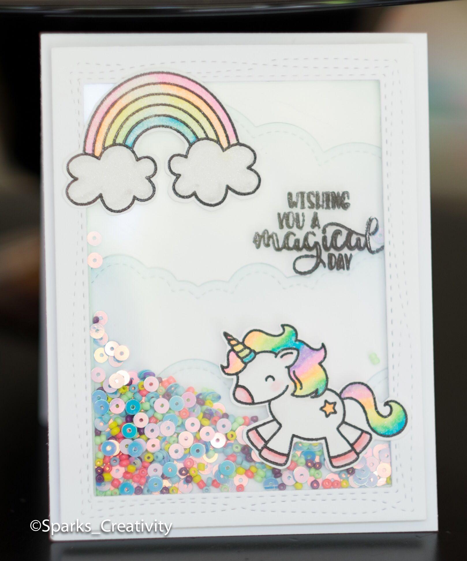 Unicorn Cards Unicorn Card Creative Birthday Cards Kids Birthday Cards