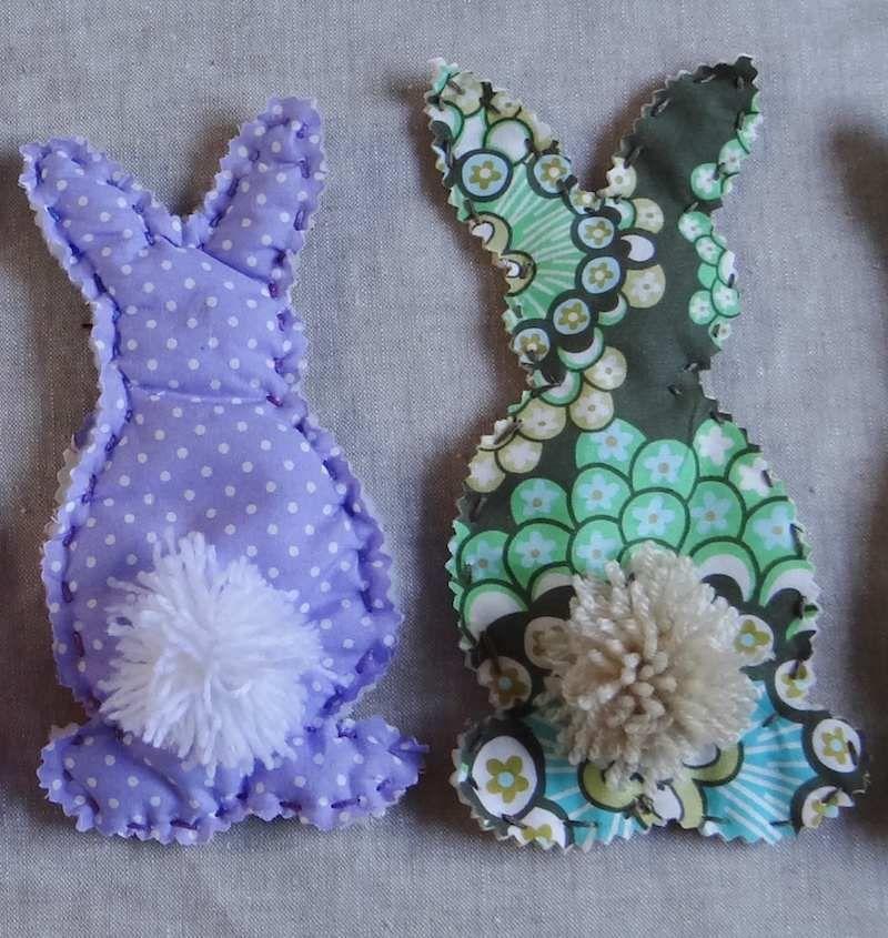 diy couture facile lapin et cocotte en