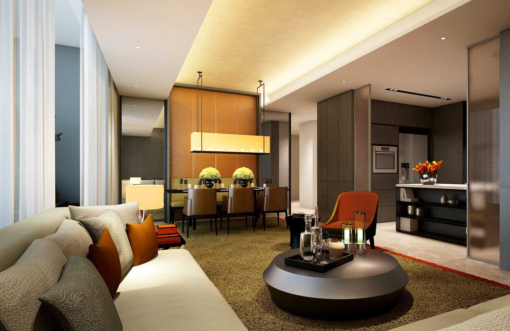 SCDA GCMN Apartments, Jakarta, Indonesia | Interior design ...