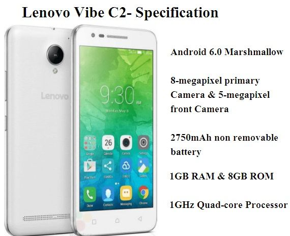 Lenovo Vibe C2: Price, Specification & Colors | Mobiles n