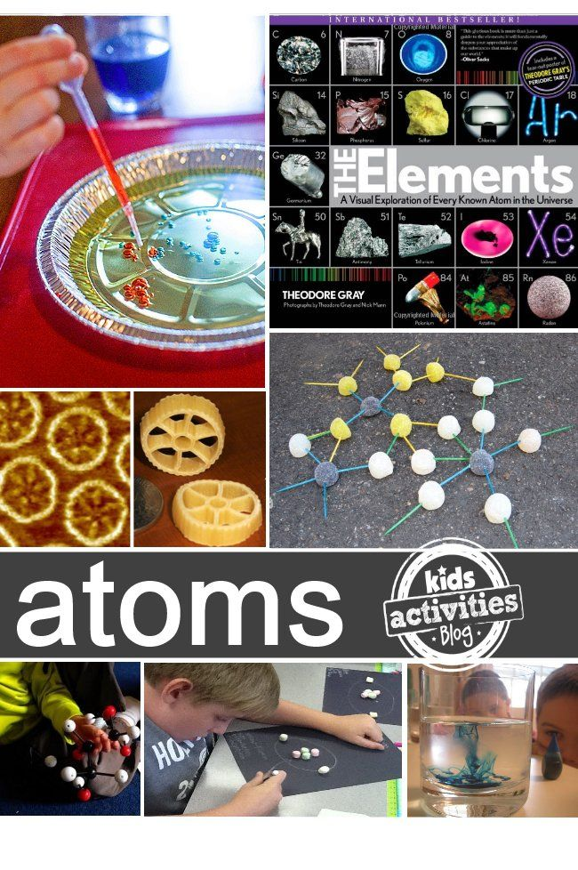 Atoms Molecules 10 Fun Ways To Learn Atoms Molecules For