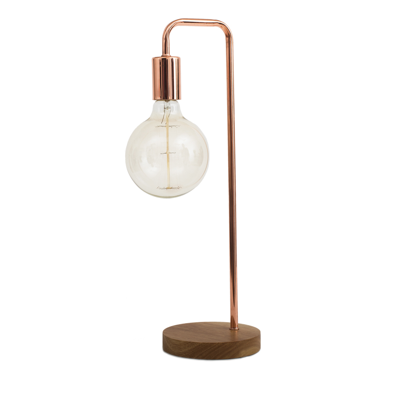 Fulton copper table lamp bed bath beyond
