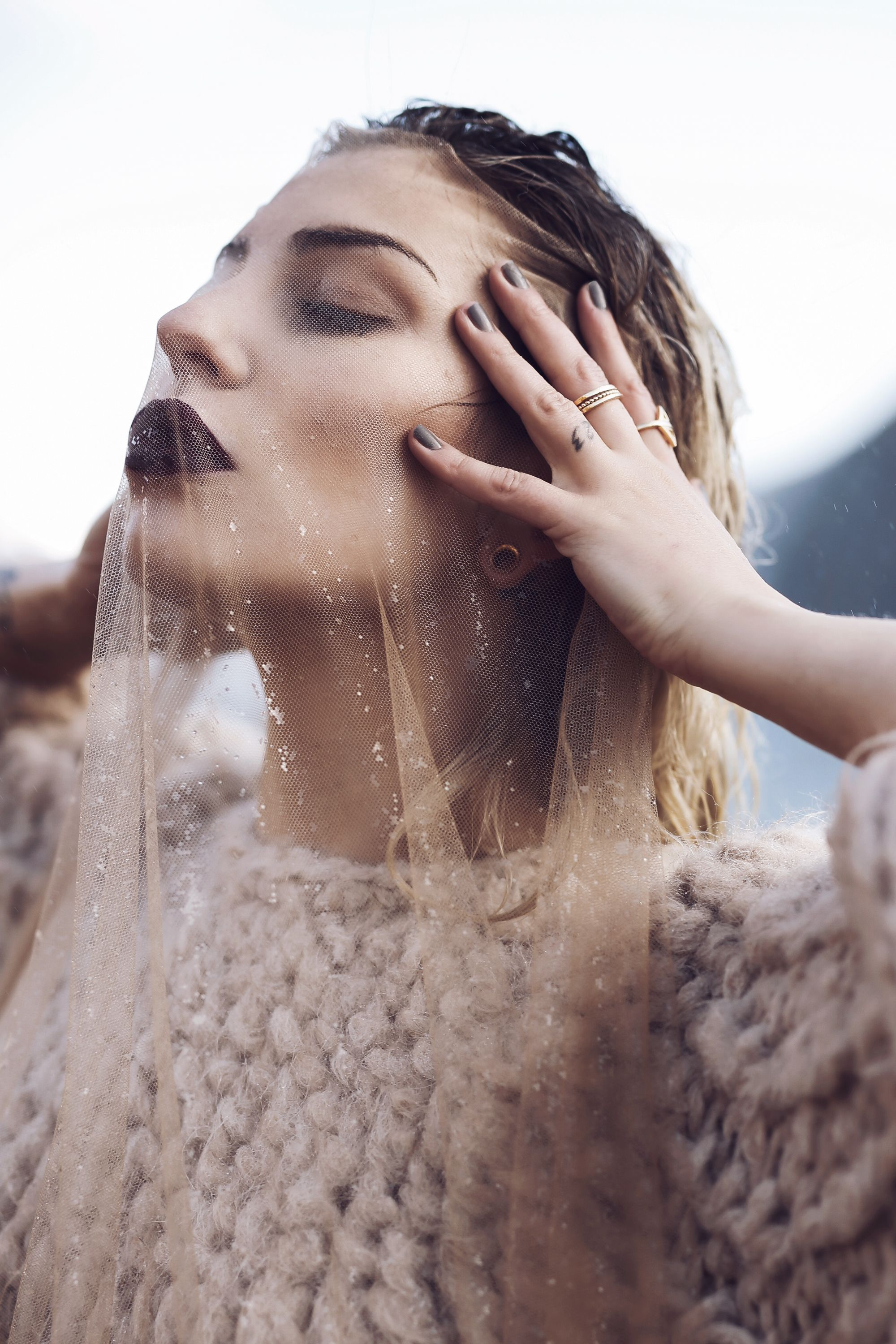 Waterfall in Iceland | Editorial Fashion Shooting for ...
