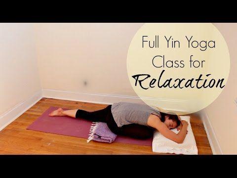 full yin yoga class for relaxation  chriskayoga  yin