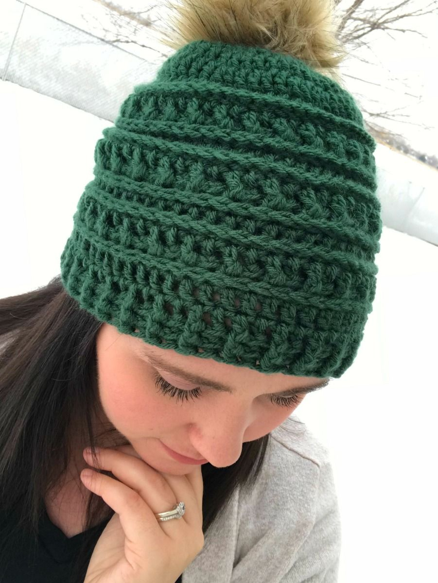This free crochet hat pattern has been a LONG time coming! I have wanted to  make a matching hat ever since I made the Ribs an Ridges scarf ! 4875de6a8d6