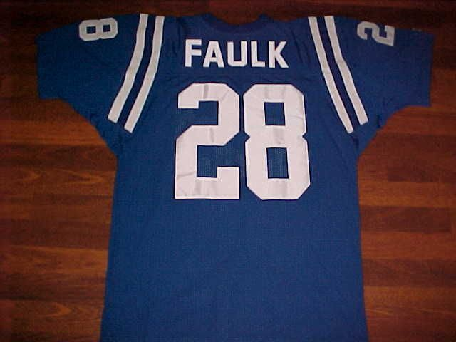 low priced 7ea33 f9f5e NFL Indianapolis Colts Marshall Faulk #28 Jersey NEW ...