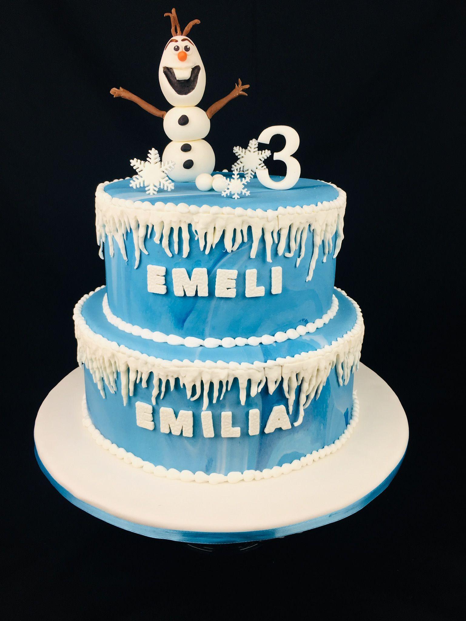 Olaf Geburtstagstorte Disney Eiskonigin Torte Geburtstagstorte Motivtorten Kindergeburtstag Kuchen Ideen