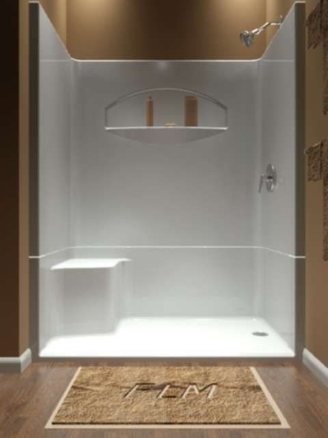 One Piece Shower The Idea Of A One Piece Shower Insert Will