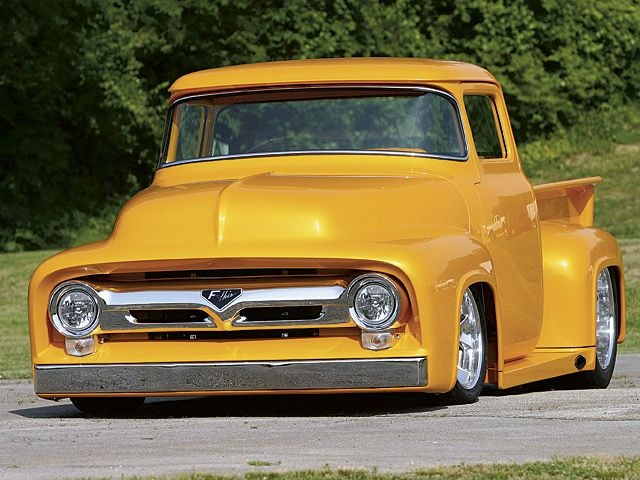 1955 Ford F100 Pickup 1 Print Image With Images Classic