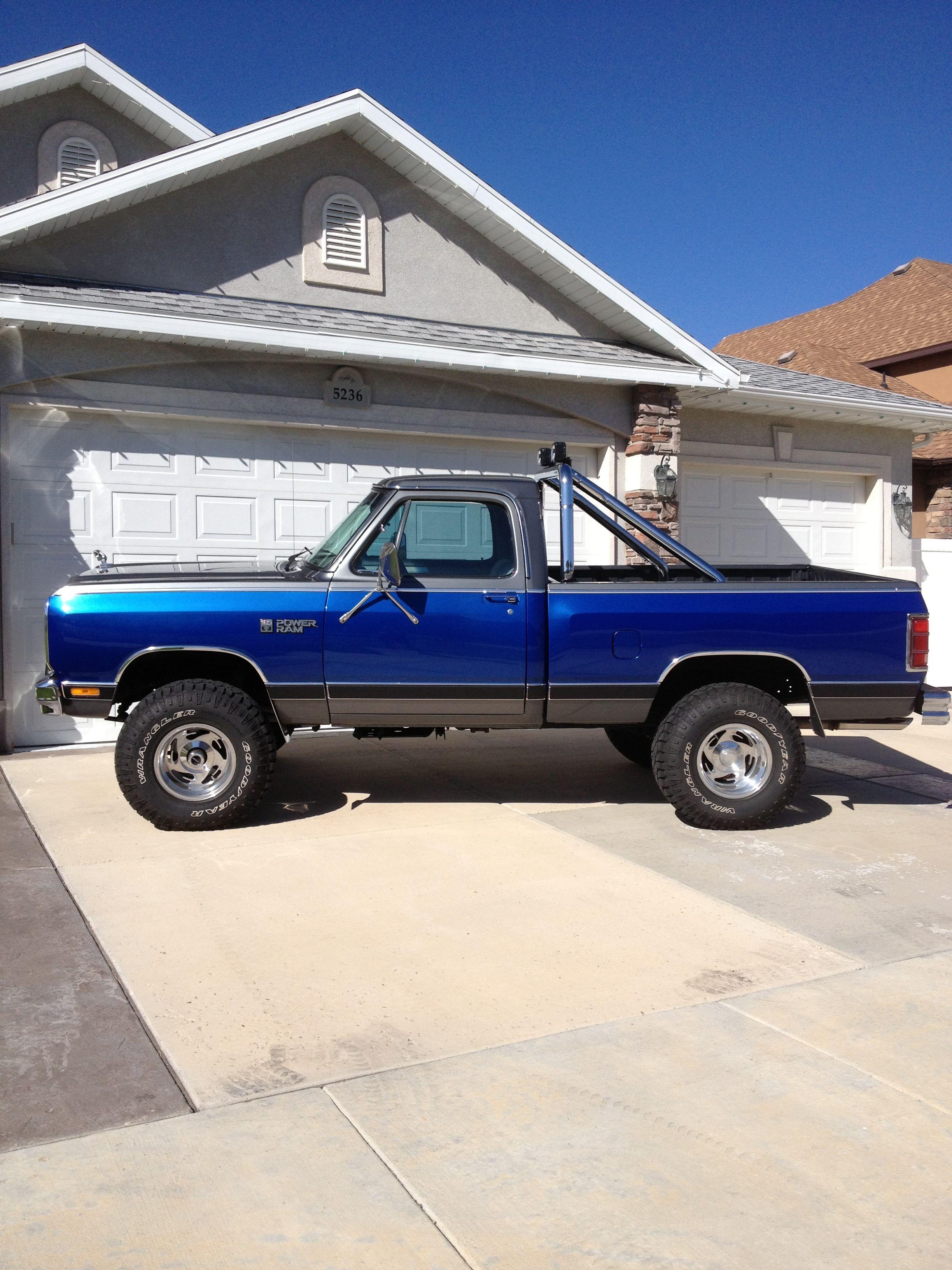 My 85 dodge truck