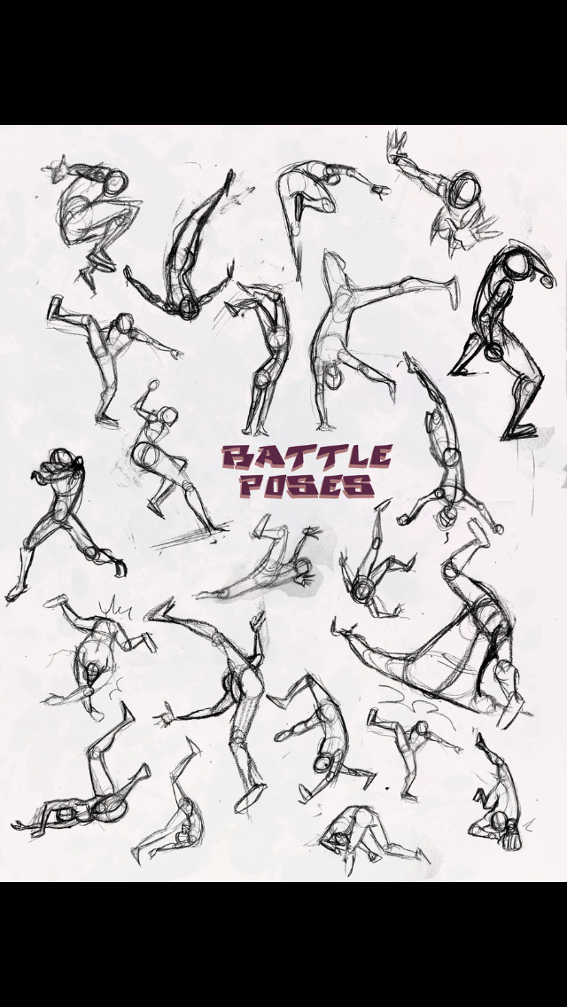 How To Draw Characters In A Scene High Horizon View Fighting Drawing Character Drawing Drawing People
