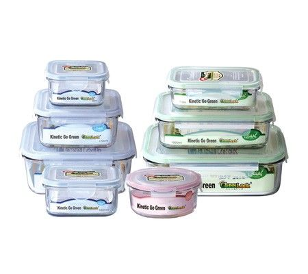 Glasslock Food Storage Container Sets Glasslock Setskinetic Go Green Glasslock Is Truely Unique And