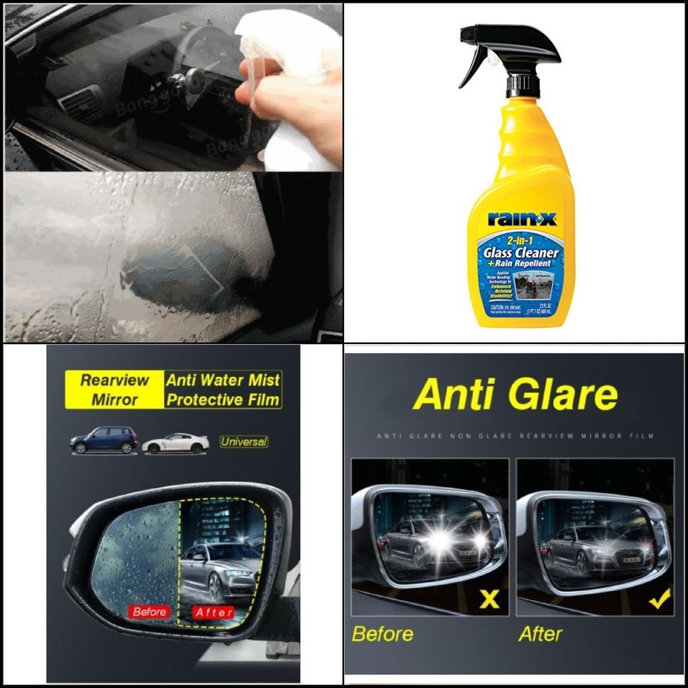 Rain X 5071268 2 In 1 Glass Cleaner And Rain Repellant 23 Fl Oz Rain X 2 In 1 Glass Cleaner Rain Repellent I Glass Cleaner Mirrors Film Cool Things To Buy