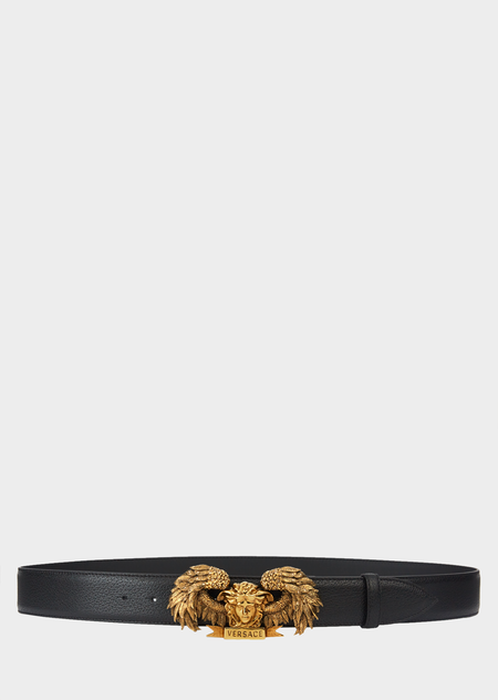 68b96aaeff Winged Medusa Leather Belt for Men | US Online Store in 2019 ...
