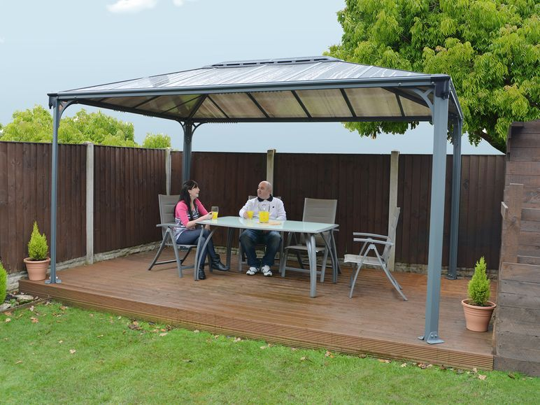 Explore Aluminum Gazebo  Garden Gazebo  and more. PALRAM Gartenpavillon Martinique 4200X3000   Lidl Deutschland