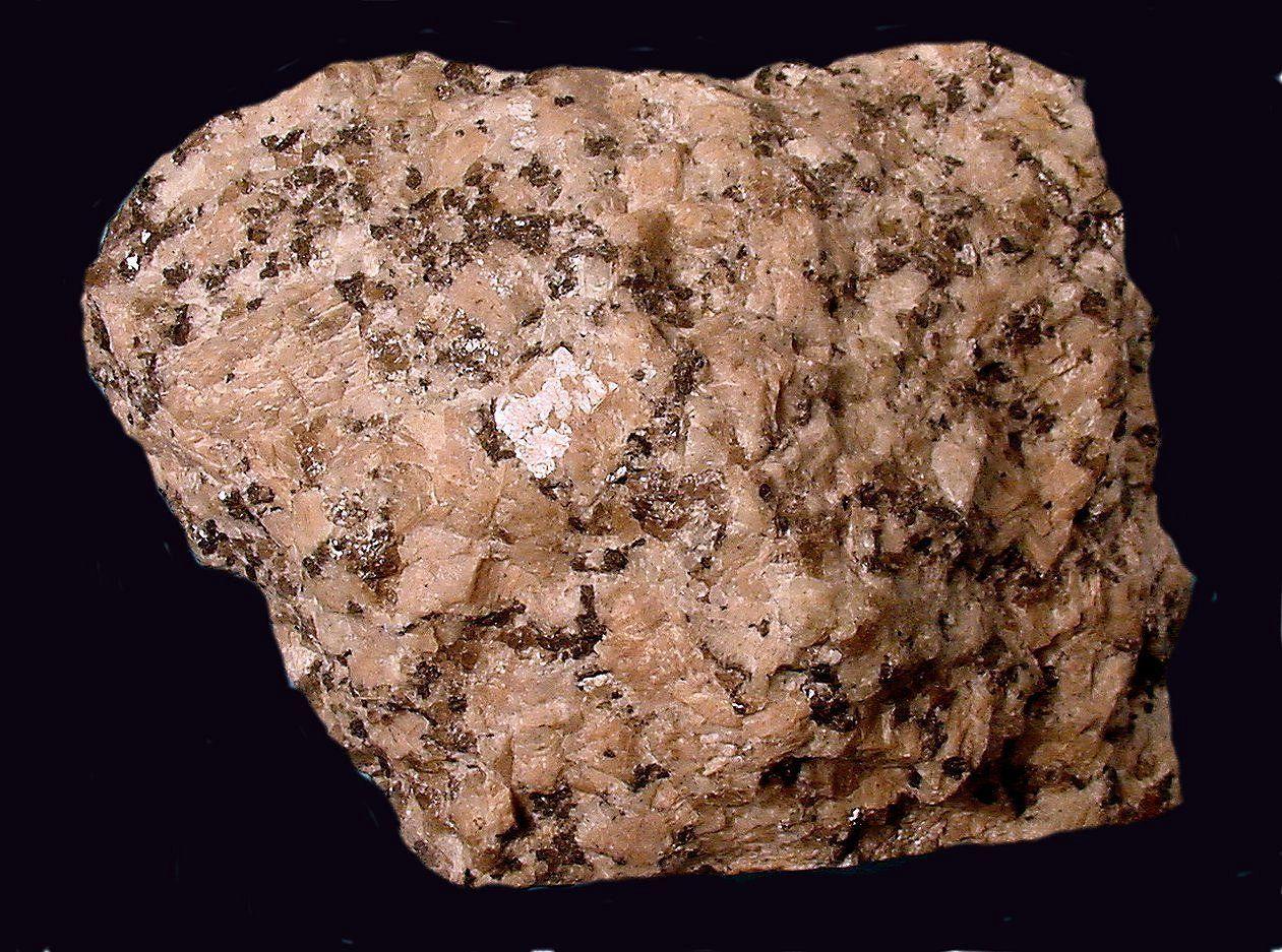 Porphyritic Biotite Granite Naturwissenschaft