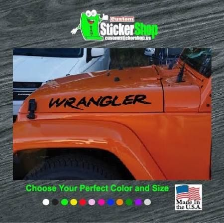 Wrangler decals google search