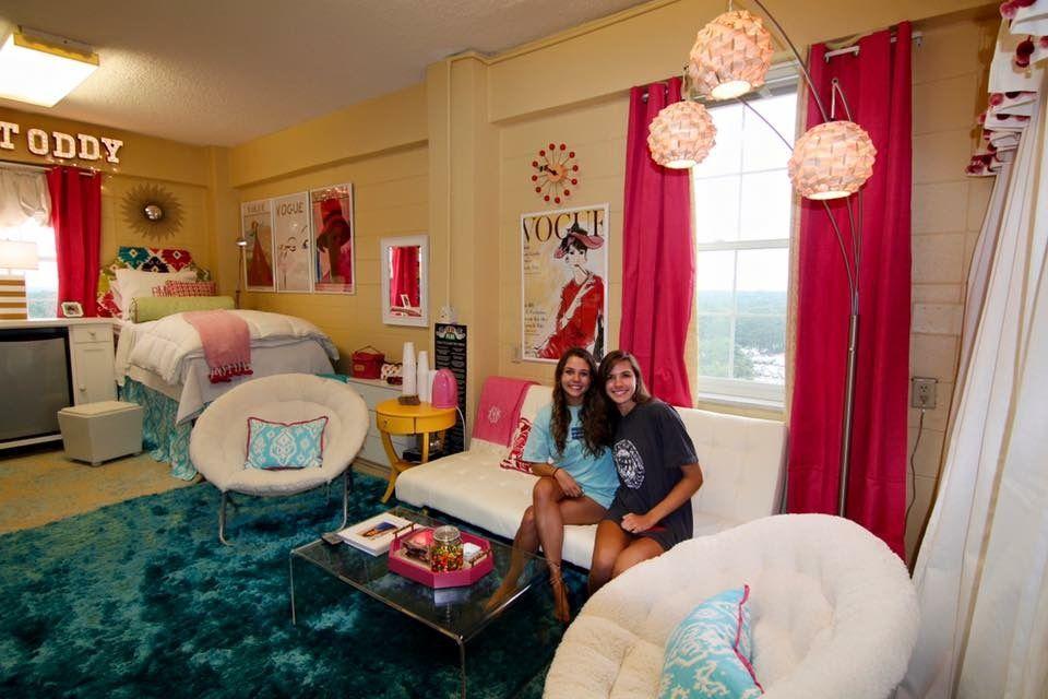 Addison And Catherine S Ole Miss Martin Hall Dorm Corner Room