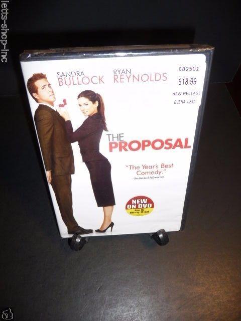 The Proposal Dvd 2009 Ryan Reynolds Sandra Bullock New Sealed