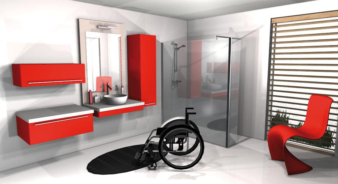 Homepage Salle De Bains Pour Handicape Salle De Bain Pmr Amenagement Salle De Bain