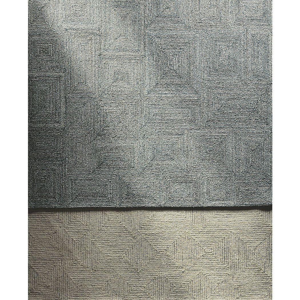 Presley 8x10 Brown Geometric Rug Reviews Crate And Barrel Rugs On Carpet Rugs Geometric Rug