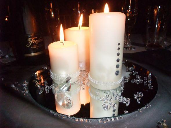Wedding centerpieces with candles centerpiece