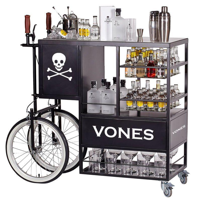 Vonestagecoach es un carro de cocteler a muy est tico enfocado al servicio de combinados - Carrito bebidas ...