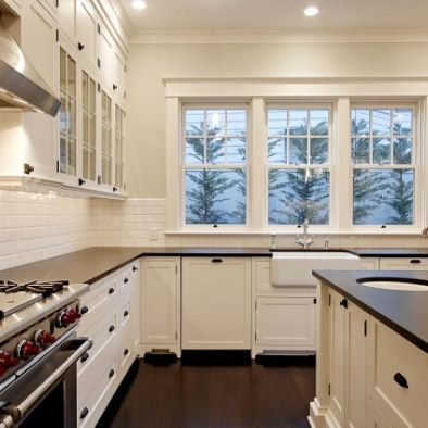 10 Ft Ceiling Design Ideas Pictures Remodel And Decor White Kitchen Interior Design Glass Fronted Kitchen Cabinets Home
