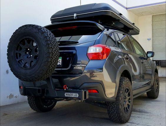 Hitchgate Solo Subaru Crosstrek Subaru Offroad