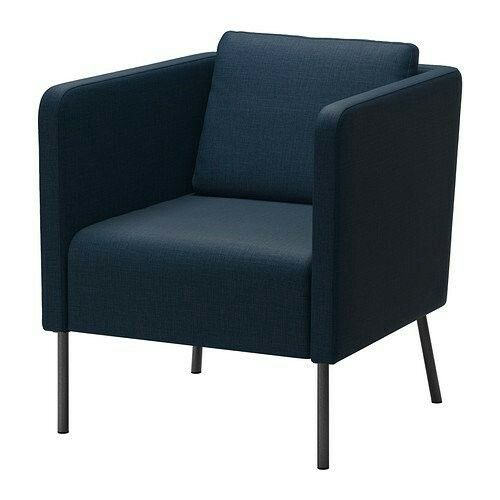 fauteuil eker bleu fonc ikea salons pinterest. Black Bedroom Furniture Sets. Home Design Ideas