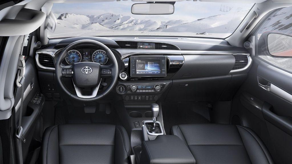 2017-toyota-hilux-interior-dashboard | Automobiles I like ...