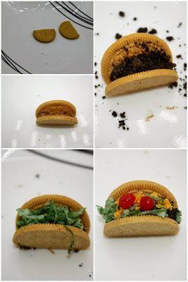 Mini edible taco cookies tutorial | Taco cake, Birthday ...