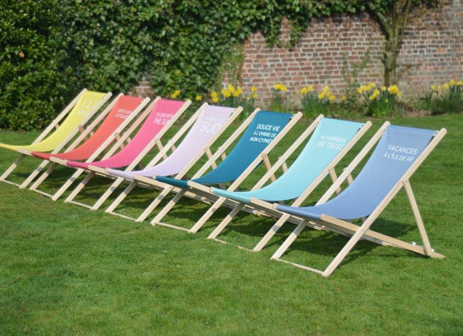 Couleurs t du transat jardin personnalis trendy for Boutique dans un jardin en ligne