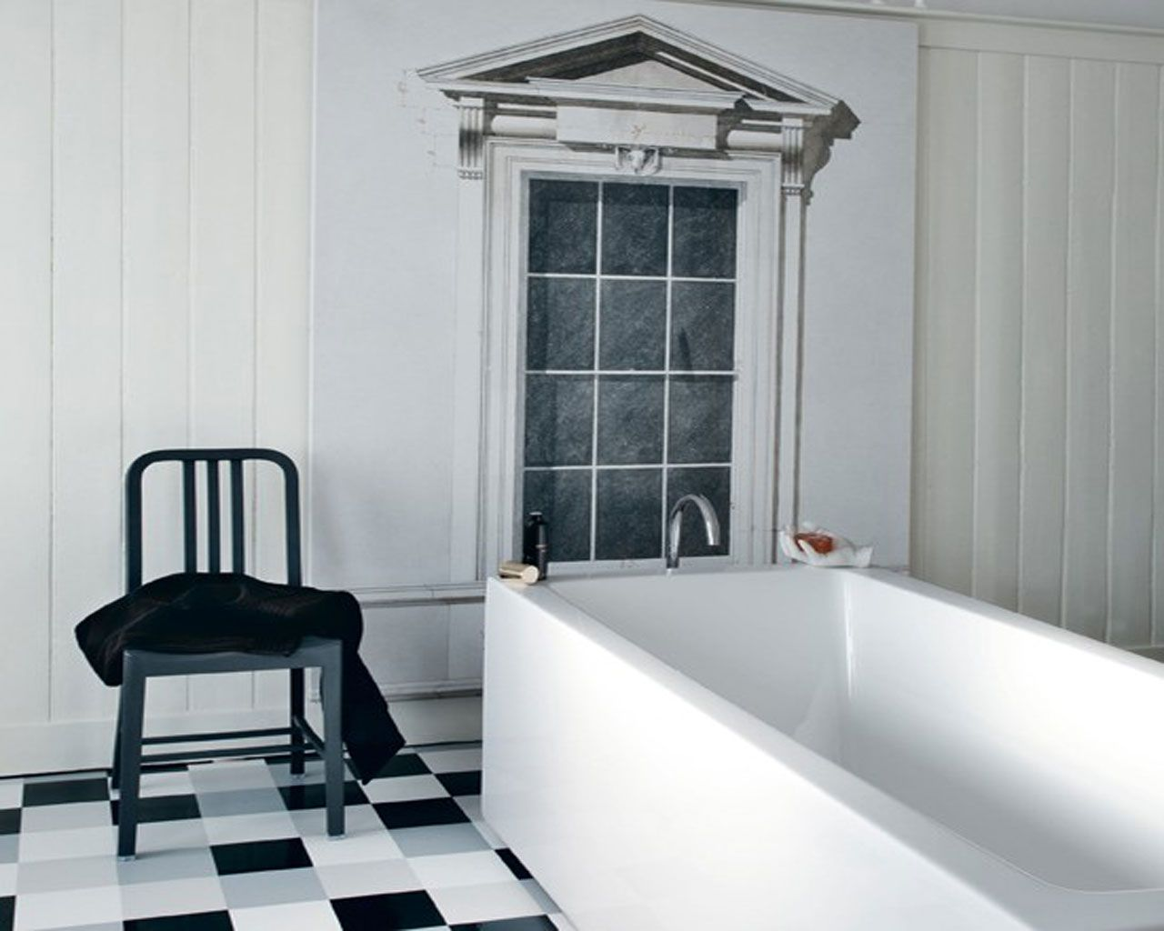 Traditional Black And White Bathrooms To Inspire