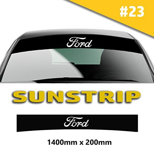 Sunstrip Ford Car Stickers Decal Graphics Windscreen Stri Https - Car window stickers amazon uk