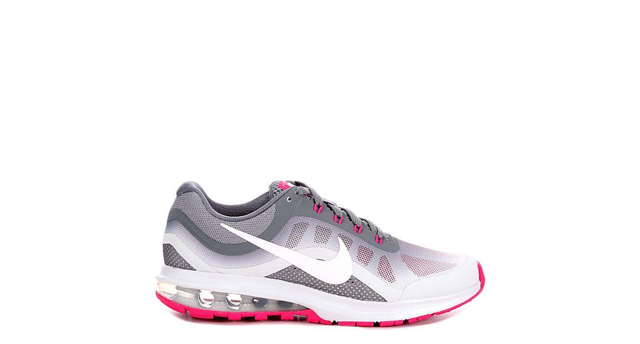 Grey Nike Womens Air Max Dynasty 2 | Athletic | Rack Room