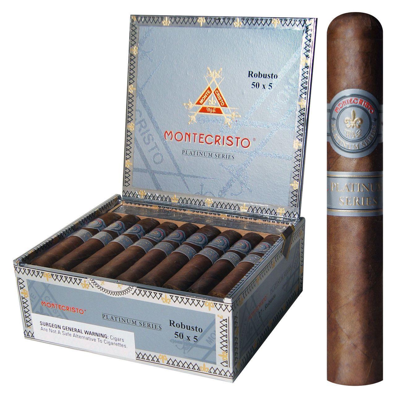 Montecristo Platinum Robusto Cigar 50 X 5 Box Of 27 Cigars Cubaanse Sigaren Sigaren