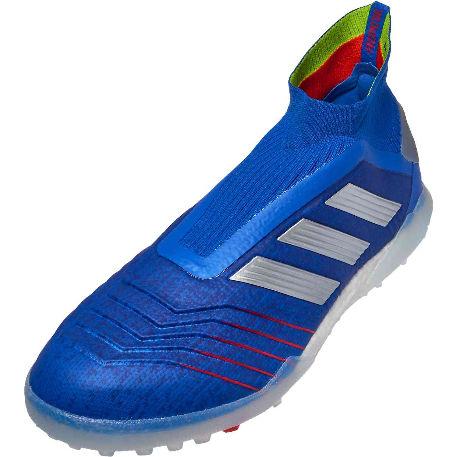 771877c7b Buy the Exhibit pack adidas Predator 19+ turf soccer shoes from www. soccerpro.com right now