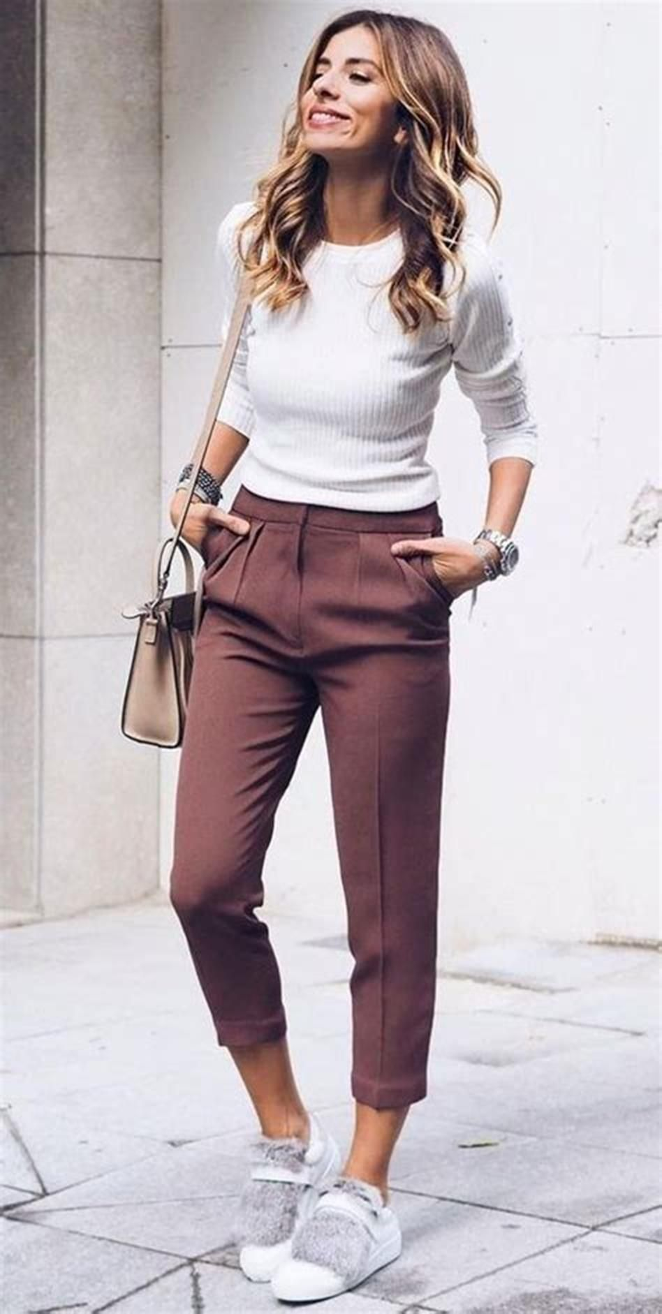 30 Stylish and Cute Casual Spring Outfits Ideas For Women 30