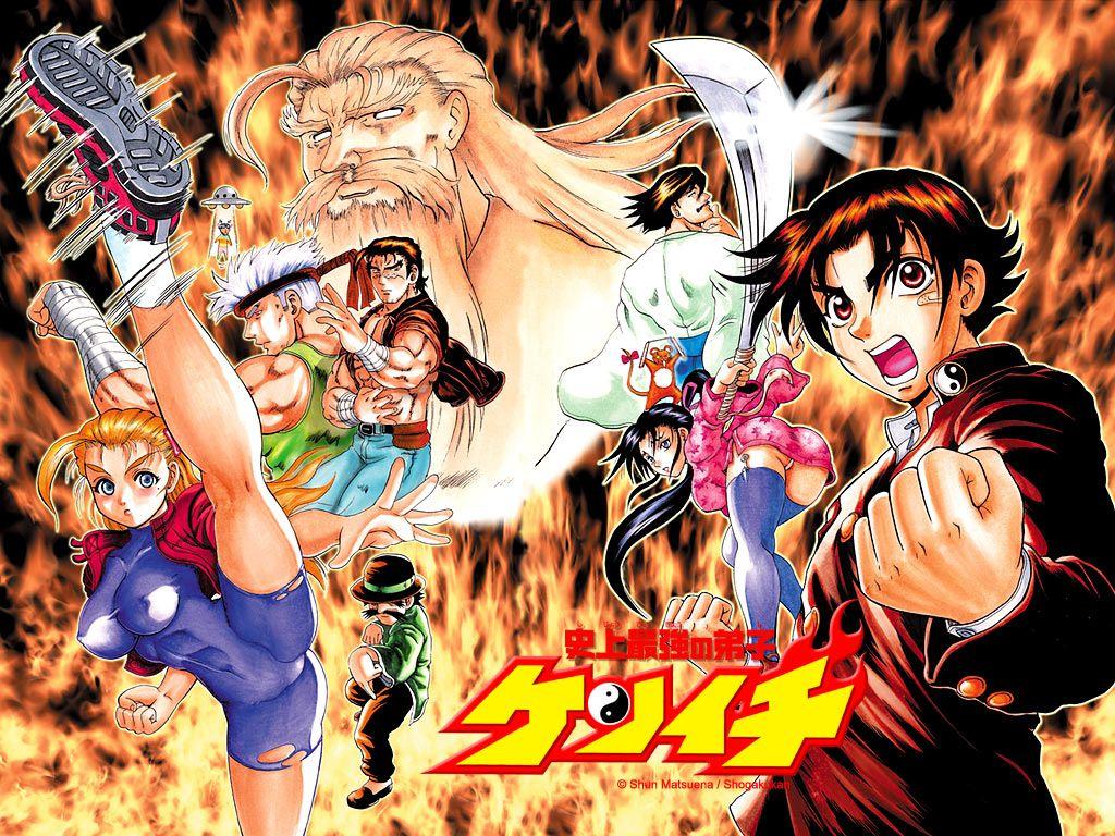 Kenichi The Mightiest Disciple by HeroedelAnime Anime