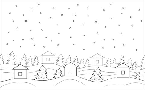 winter malvorlagen (with images)   home decor decals